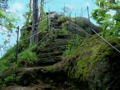 STANEK – kamienny cypel nad Zaporą